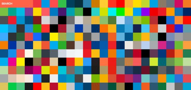 国旗とブランドの カラーパレット サービス