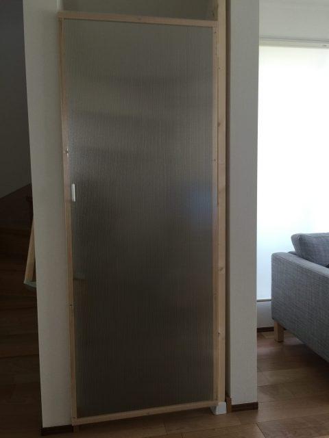 DIY - 猫脱走防止扉を作ってみる